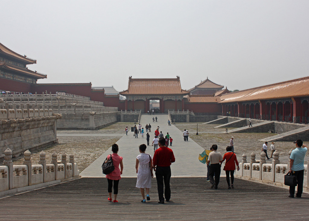 Those Forking Emperors in the Forbidden City!