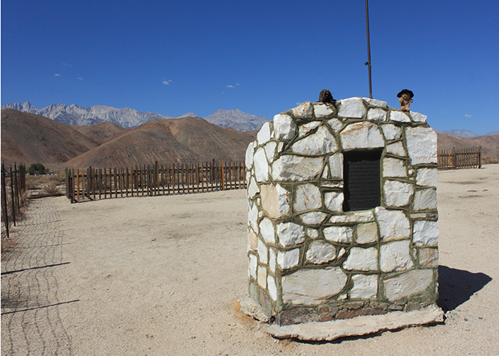 Grave of the 1872 Earthquake Victims!