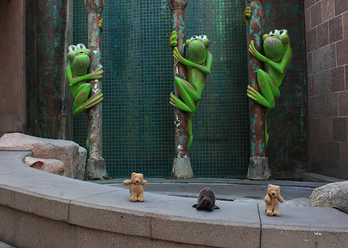The Glendale Frog Fountain