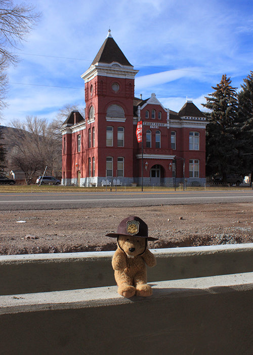 The Old Piute County Courthouse!