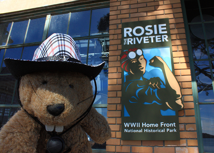 Rosie the Riveter WWII Home Front National Historical Park!