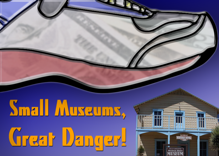 Small Museums, Great Danger!