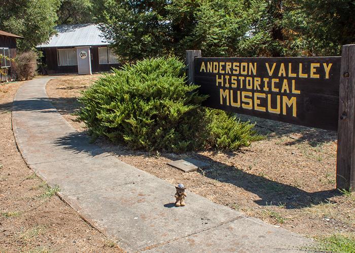 The Anderson Valley Historical Museum!
