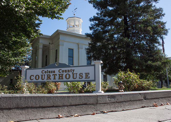 Colusa County Courthouse!