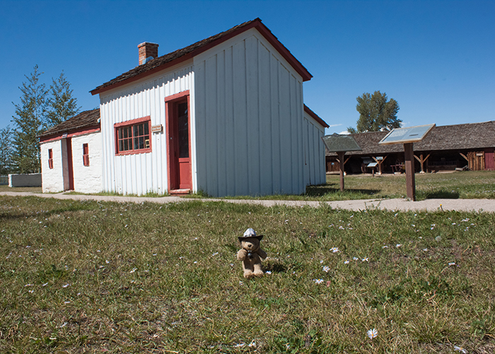 The First School House in Wyoming!
