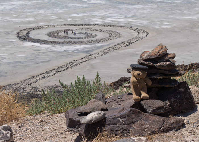 The Spiral Jetty!