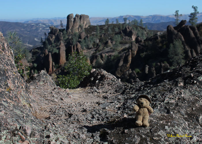 Camping in Pinnacles National Monument!