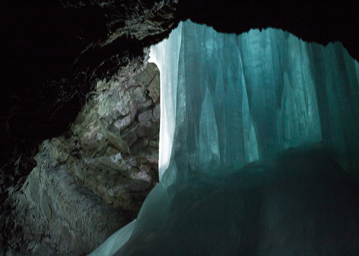 How I Lucked Out and Got on the Crystal Ice Cave Tour!