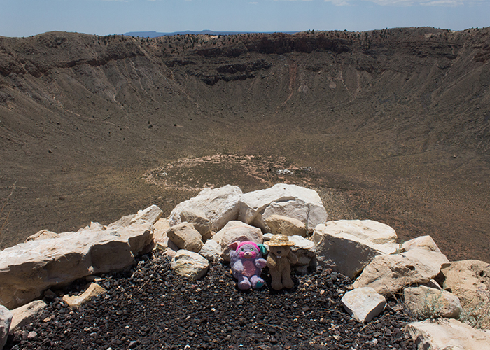 The Barringer Meteor Crater!