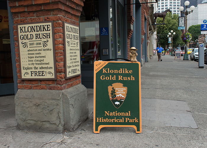 Klondike Gold Rush National Historical Park (Seattle)!