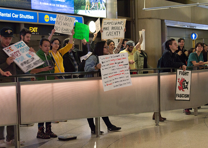 The Airport Protests of the 'Muslim Ban!'