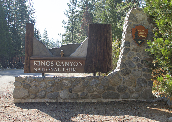 Kings Canyon National Park!
