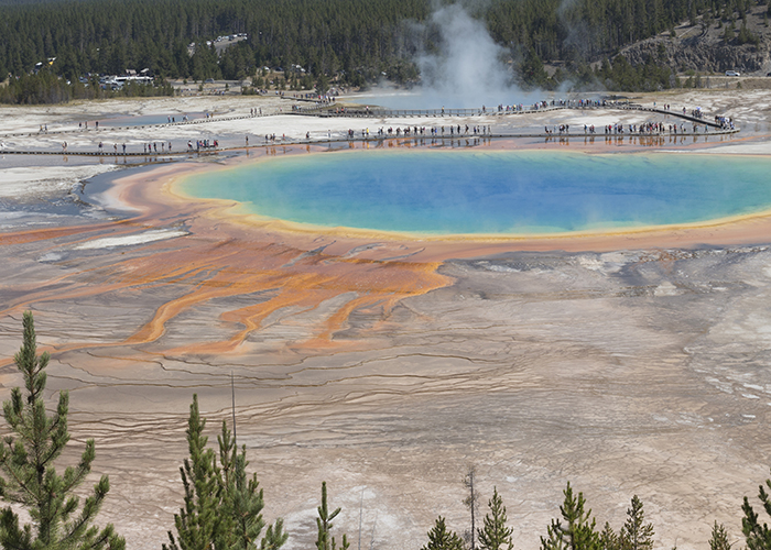 A Hot Minute in the Yellowstone Caldera!