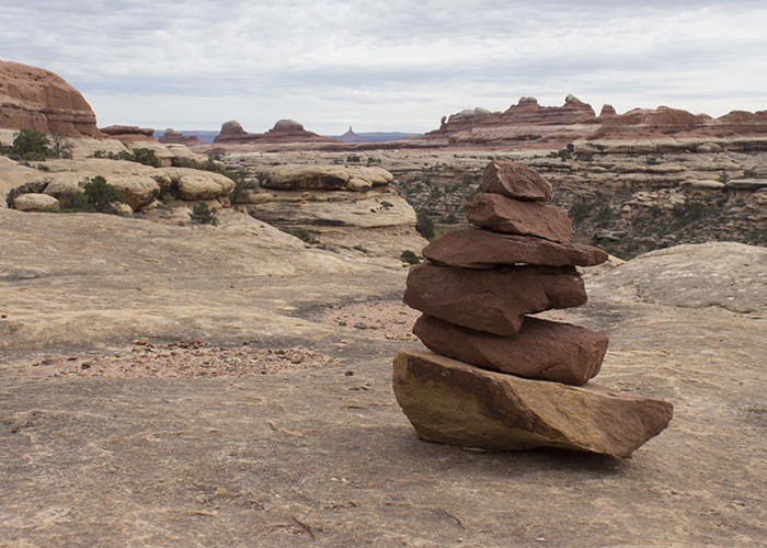 Canyonlands without a Cairn!
