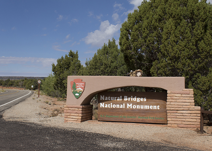 Natural Bridges National Monument!